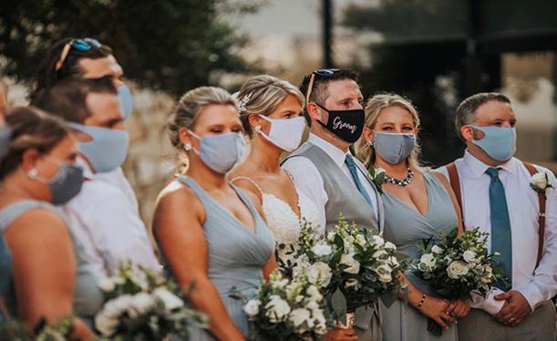 Patarimai organizuojant saugias vestuves